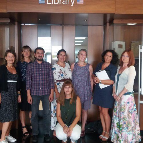 Participamos en Atenas: cuarta reunión del proyecto XXI Trainer