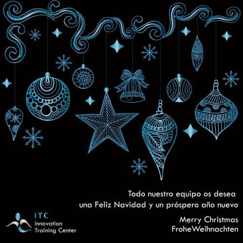 Felíz Navidad y próspero 2018 del equipo de ITC