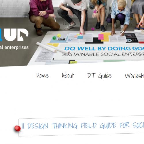 Guía de campo de DESIGN THINKING ya lista #SOCIALUP, la presentamos el 25/07 en Estepona