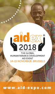 AidEx Bruselas 2018: ¿Cómo puede la tecnología contribuir a un impacto social positivo? 14-15/11/2018
