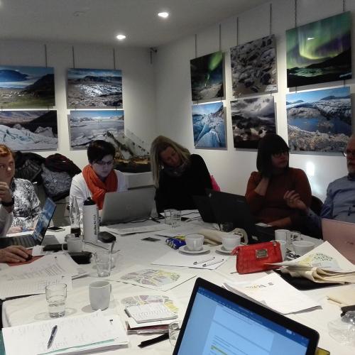 Participamos en Islandia en la reunión de salida del proyecto KNOW HUB, modelo innovador para la #educacióndeadultos #UINNO