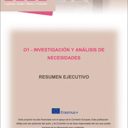 Ya disponible el Informe del análisis de necesidades transnacionales sobre la participación de las mujeres en TIC del proyecto #LIFT