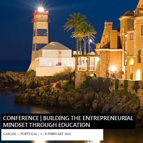 """Seminario en Cascais – """"Mentalidades emprendedoras"""" 4 al 8 de Febrero, 2019"""