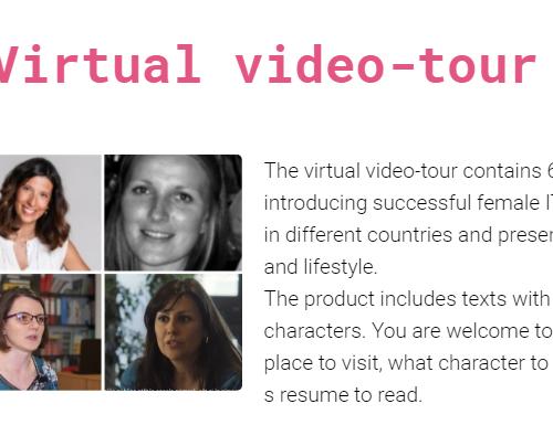 Ladies Code Their Future y su VIRTUAL VIDEO TOUR –  #ConEllas #investigadoras #emprendedoras #mujeryciencia #JuntosSumamos #LIFT