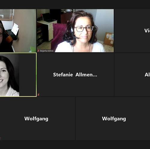 Nos reunimos de nuevo por videoconferencia con los socios de WORKPLACE BASIC SKILLS #competencias básicas para #inmigrantes