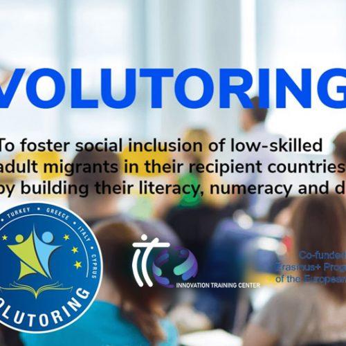 Nota de Prensa – Proyecto Volutoring – Buscamos Voluntarios que quieran tutorizar y enseñar alfabetización, aritmética básica y habilidades digitales a inmigrantes
